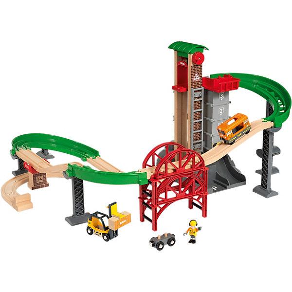 BRIO Железная дорога Brio Логистическая станция с лифтом