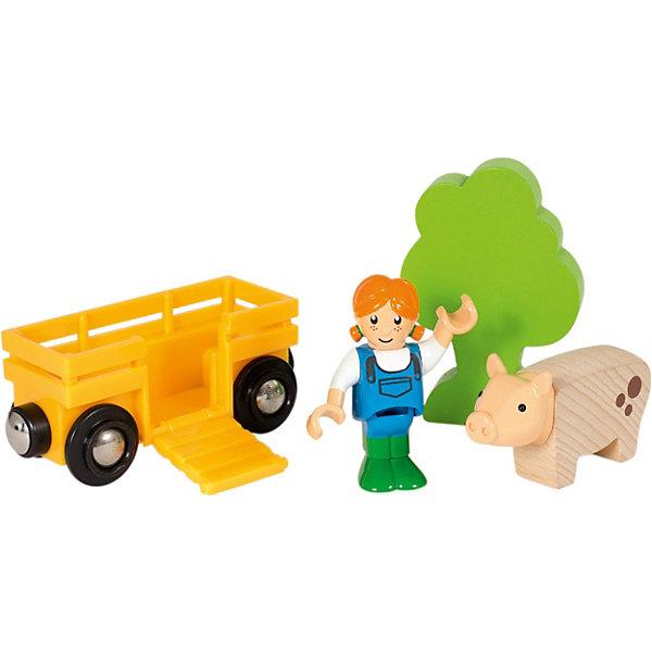 BRIO Игровой набор Brio Девочка на ферме цена