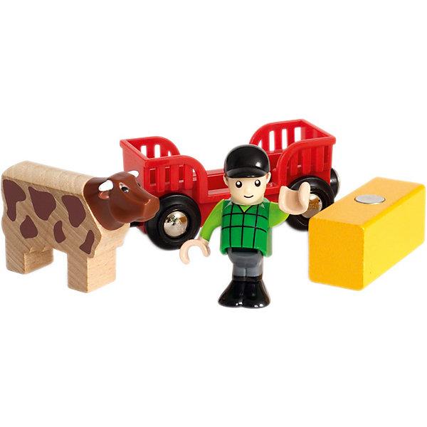 """BRIO Игровой набор Brio """"Мальчик на ферме"""""""