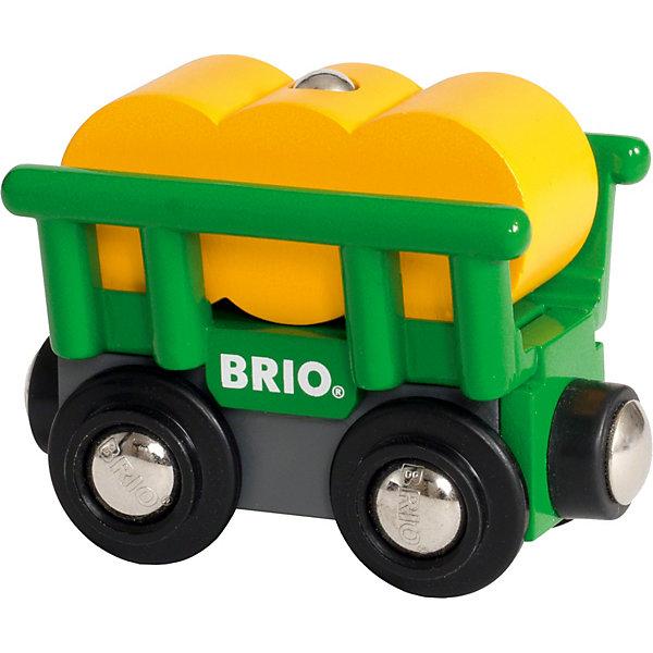 BRIO Игровой набор Brio Вагончик с сеном цена