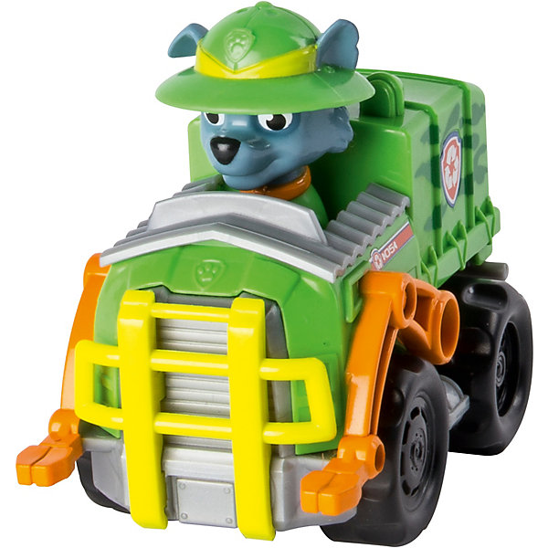 Купить Маленькая машинка спасателя, Щенячий патруль, Spin Master, Рокки, Китай, разноцветный, Унисекс