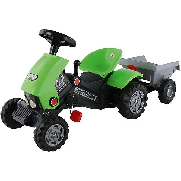 Каталка-трактор с педалями Полесье