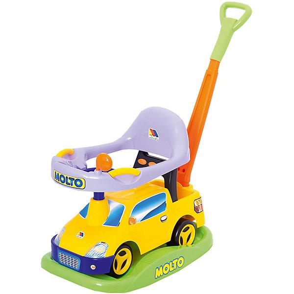 Polesie Машинка-каталка Полесье Пикап № 2 многофункциональный, жёлтый