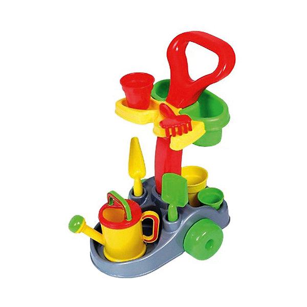 Фото - Полесье Набор игрушек для песочницы Полесье №382 Садовник, в коробке полесье набор игрушек для песочницы 468 цвет в ассортименте