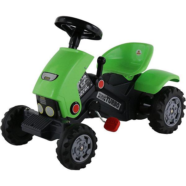Polesie Каталка-трактор с педалями Полесье Turbo-2 каталка трактор r toys ор931к пластик от 10 месяцев на колесах красно желтый