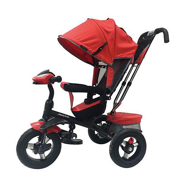 Купить Трехколесный велосипед Moby Kids Comfort 360° AIR, 12x10, красный, Китай, Унисекс