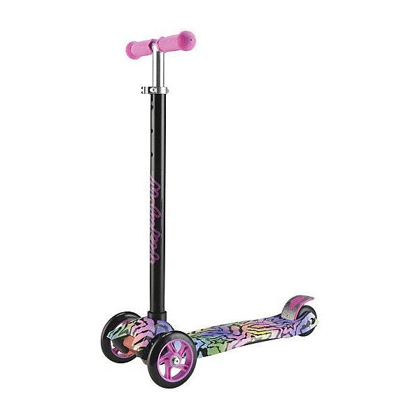 Самокат Moby Kids Junior 3.0, 120 мм PU, розовый с принтомСамокаты<br>Характеристики товара:<br><br>• возраст: от 3 лет;<br>• из чего сделана игрушка (состав): алюминий, полиуретан, пластик;<br>• высота рулевой стойки: 65 - 87 см.;<br>• размер платформы: 32х13,5 см.;<br>• тормоз: ножной;<br>• колеса: полиуретан;<br>• количество колес: 3;<br>• максимальная нагрузка: 50 кг.;<br>• диаметр передних колес: 12 см.; <br>• материал колес: полиуретан;<br>• размер упаковки: 56,5х14,5х29 см.;<br>• вес: 2,716 кг.<br><br>Самокат Moby kids «Junior 3,0»  это надежный и устойчивый трехколесный самокат, поворот которого осуществляется путем наклона руля в необходимую сторону. <br><br>Модель имеет достаточно широкую платформу, прочный, выполненный из алюминия руль с тремя вариантами установки высоты и мягкими ручками-грипсами. <br><br>Остановка осуществляется благодаря широкому ножному тормозу, расположенному над задним колесом. <br><br>Колеса изготовлены из полиуретана, это прочный и упругий материал, который обеспечивает дополнительную амортизацию во время езды, а также тихий и легкий ход самоката. <br><br>Дека модели декорирована ярким оригинальным принтом, который позволит ребенку выгодно выделяться из толпы. <br>  <br>Самокат Moby Kids «Junior 3,0» можно купить в нашем интернет-магазине.<br>Ширина мм: 565; Глубина мм: 145; Высота мм: 290; Вес г: 2716; Цвет: розовый/розовый; Возраст от месяцев: 36; Возраст до месяцев: 2147483647; Пол: Мужской; Возраст: Детский; SKU: 8445848;