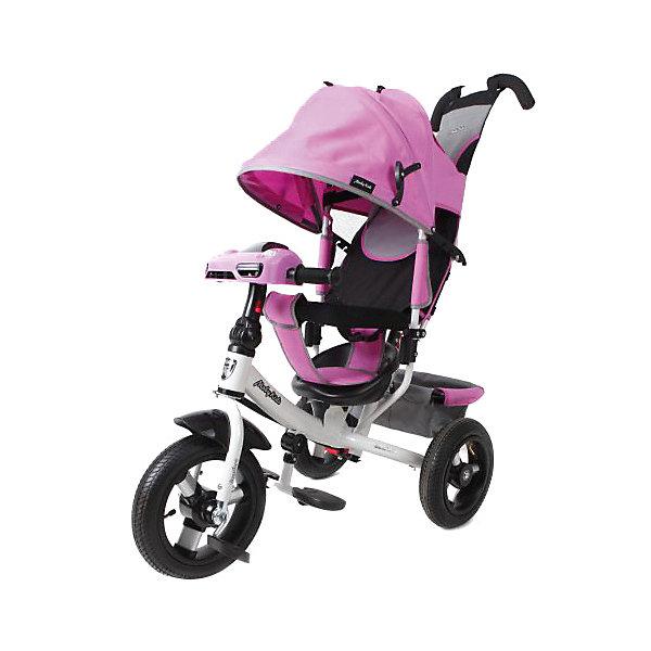 Moby Kids Трехколесный велосипед Moby Kids Comfort AIR Car 2, 12x10, лиловый