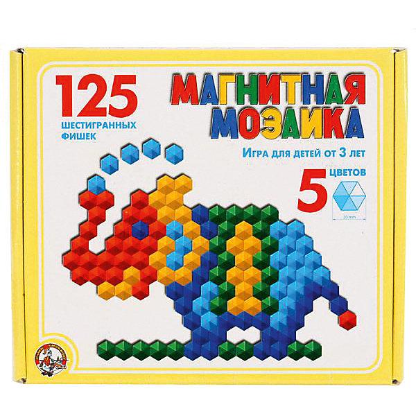 Десятое королевство Магнитная мозаика Десятое королевство шестигранная, 125 элементов