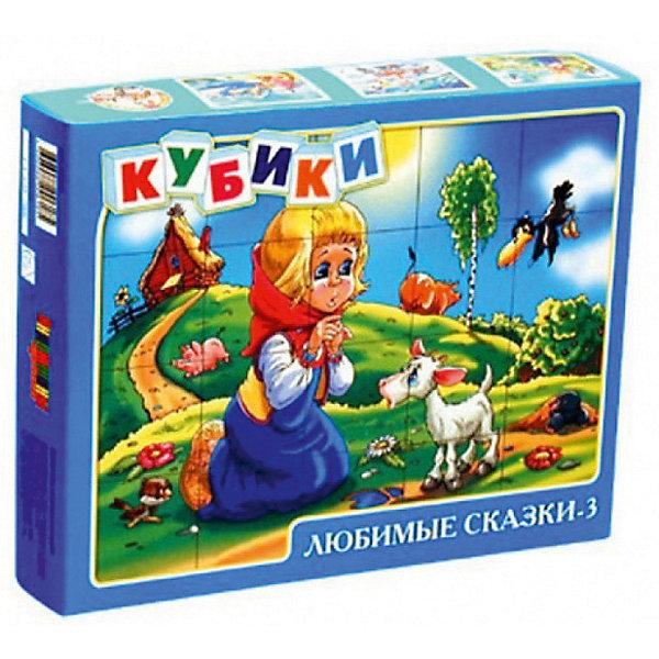 Десятое королевство Кубики Любимые сказки-3, 20 шт