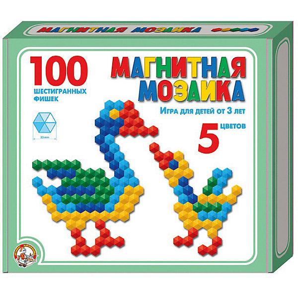 Десятое королевство Магнитная мозаика Десятое королевство шестигранная, 100 элементов десятое королевство мозаика десятое королевство 180 элементов