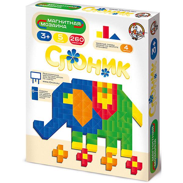 Десятое королевство Магнитная мозаика Десятое королевство Слоник 260 элементов, без игрового поля десятое королевство мозаика 145 элементов