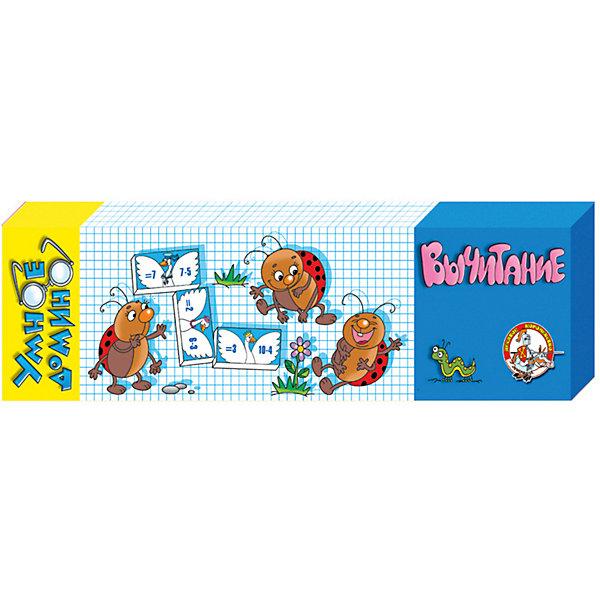 Десятое королевство Умное домино Десятое королевство Вычитание игра спортивная десятое королевство 00628 домино мои игрушки