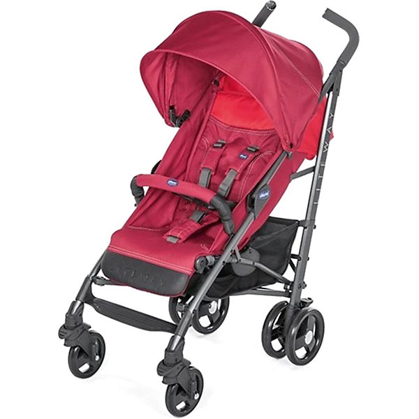 CHICCO Коляска-трость Chicco Lite Way 3 Top Red Berry, с бампером коляска 2 в 1 chicco trio stylego red passion