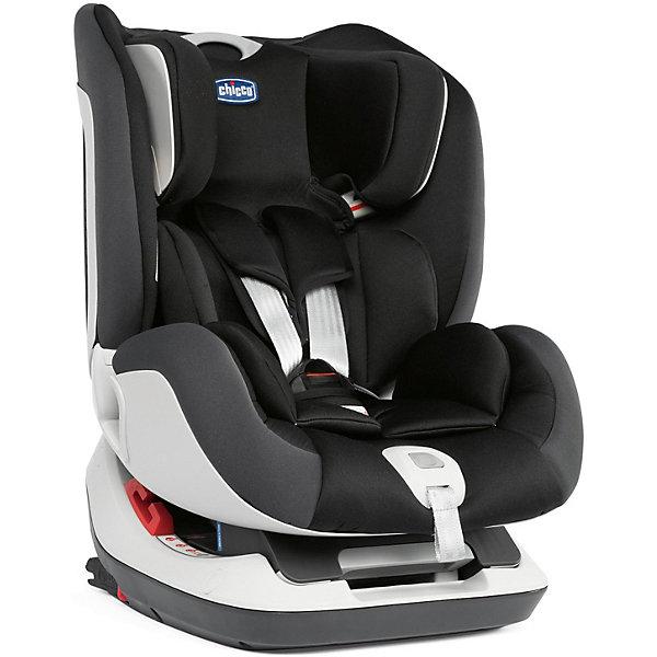 Автокресло Chicco Seat-Up 012 Jet Black, группа 0/1/2Группа 0-1-2  (до 25 кг)<br>Характеристики:<br><br>• группа 0+/1/2;<br>• вес ребенка: до 25 кг;<br>• способ установки: по ходу и против хода движения автомобиля;<br>• способ крепления: система Isofix или при помощи штатных ремней безопасности;<br>• якорный ремень Top Tether;<br>• регулируемая спинка: 4 положения;<br>• регулируемый по высоте подголовник;<br>• съемный подголовник для малышей весом до 9 кг;<br>• 5-ти точечные ремни безопасности регулируются по длине;<br>• защита от боковых ударов;<br>• чехлы автокресла можно снять и постирать при температуре 30 градусов;<br>• материал: пластик, полиэстер;<br>• размер автокресла: 44х63,5х53 см;<br>• вес: 12,8 кг.<br><br>Автокресло позволит обезопасить ребенка во время путешествий с ним на автомобиле. Автокресло широкое и прочное, ребенок в автокресле находится в полулежачем положении, по мере роста малыша автокресло можно перевести в сидячее положение. Спинка автокресла и подголовник регулируются и позволяют создать для ребенка удобное положение во время длительных поездок. Автокресло крепится как ремнями безопасности автомобиля, так и с помощью системы креплений Изофикс. Дополнительной страховкой является использование якорного ремня Top Tether. <br><br>Автокресло Chicco SEAT - UP 012 Jet Black (Группа 0/1/2) можно купить в нашем интернет-магазине.<br>Ширина мм: 520; Глубина мм: 460; Высота мм: 670; Вес г: 15300; Цвет: черный; Возраст от месяцев: 0; Возраст до месяцев: 84; Пол: Унисекс; Возраст: Детский; SKU: 8449981;