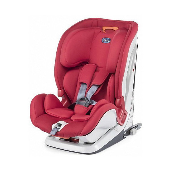 CHICCO Автокресло Chicco Youniverse Fix Red, группа 1/2/3 автокресло inglesina newton i fix red