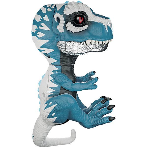 "WowWee Интерактивный динозавр Fingerlings ""Айронджо"", 12 см"