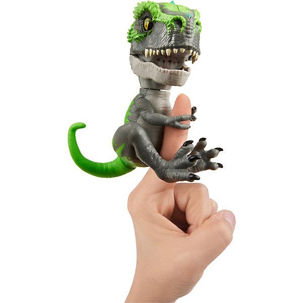 "WowWee Интерактивный динозавр Fingerlings ""Треккер"", 12 см"