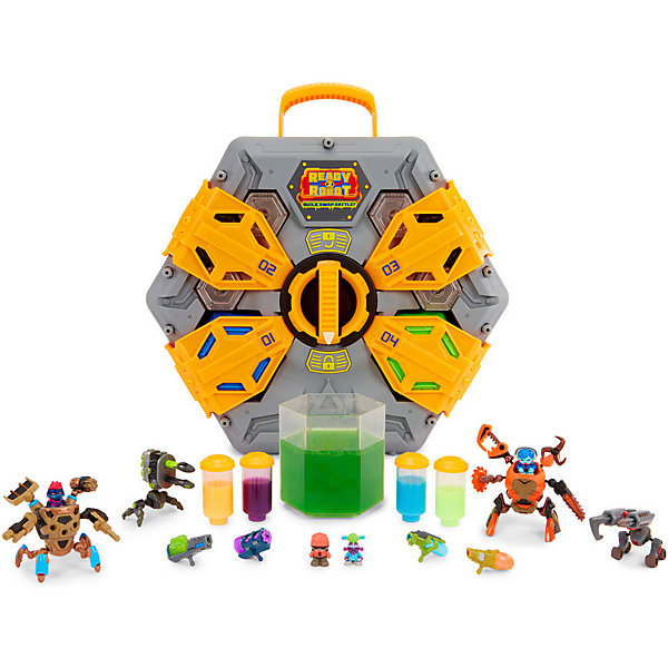 MGA Игровой набор Entertainment Ready2Robot Космический корабль, арена для сражений