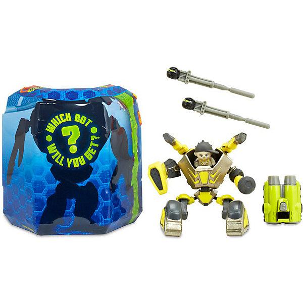 MGA Игровой набор MGA Entertainment Ready2Robot Две капсулы, Крепыш и оружие mga игровой набор mga entertainment ready2robot капсула и минибот набор 3