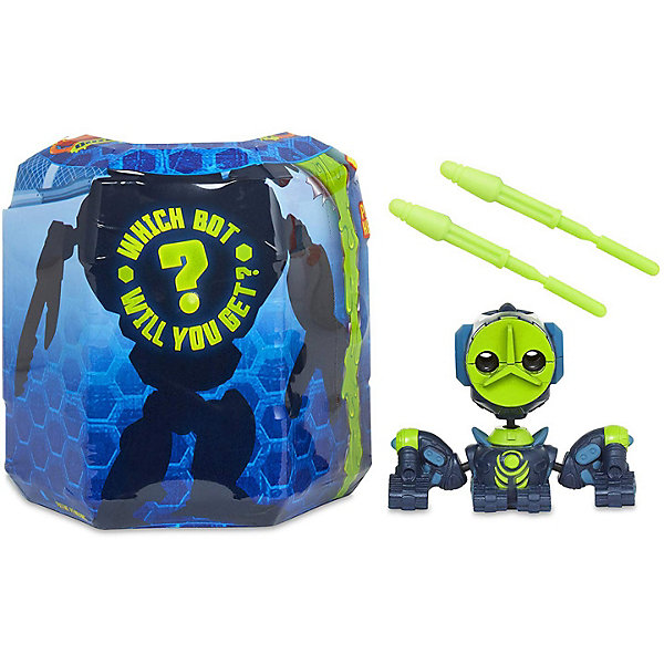 Купить Игровой набор MGA Entertainment Ready2Robot Капсула и минибот, набор 4, Китай, Мужской