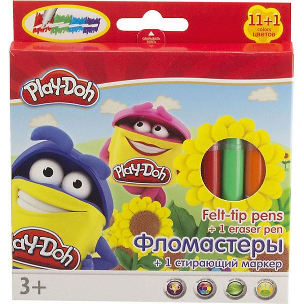 Darpeje Набор фломастеров Darpeje Play-Doh, 12 предметов