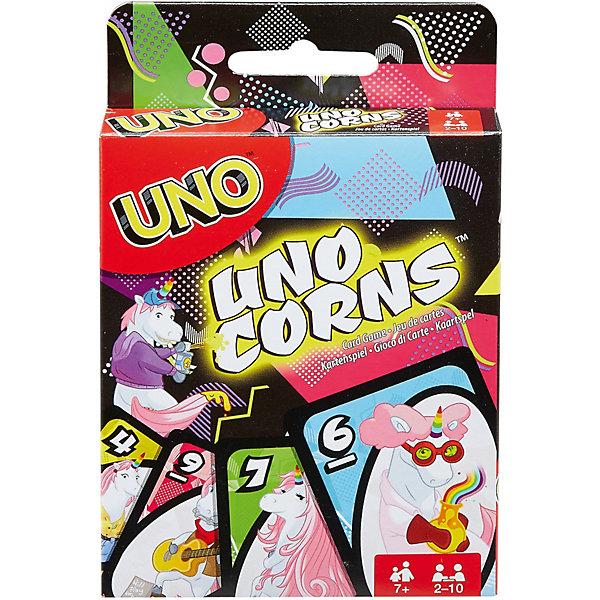 Mattel Настольная игра Games Uno Уно Единороги