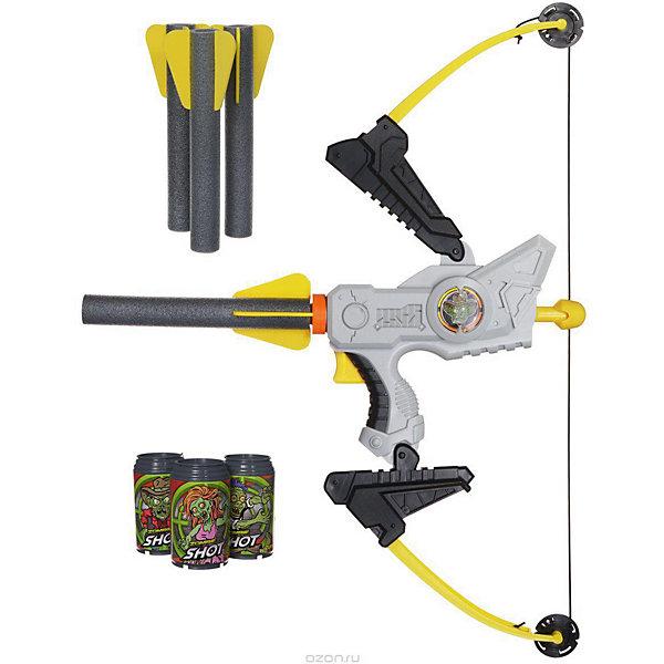 XShot Лук XShot Зомби (6 банок, 4 стрелоракеты) стрельба из лука лук рука гвардии защита предплечья сейф 3 ремень камо кожи новая