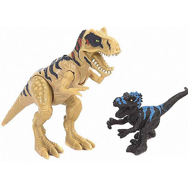 Chap Mei Подвижная фигура Chap Mei Мегалозавра с маленьким динозавром