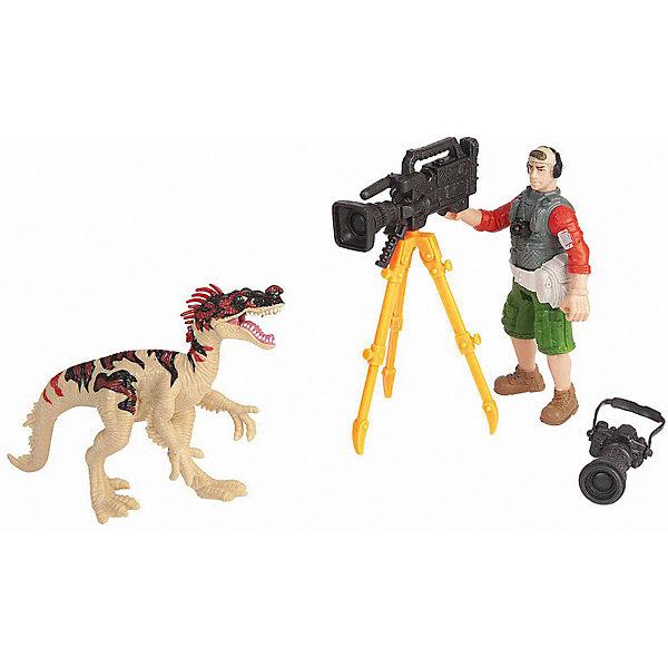 Chap Mei Набор Chap Mei Динозавр Эораптор и кинооператор chap mei набор chap mei нано армия со звуком и светом