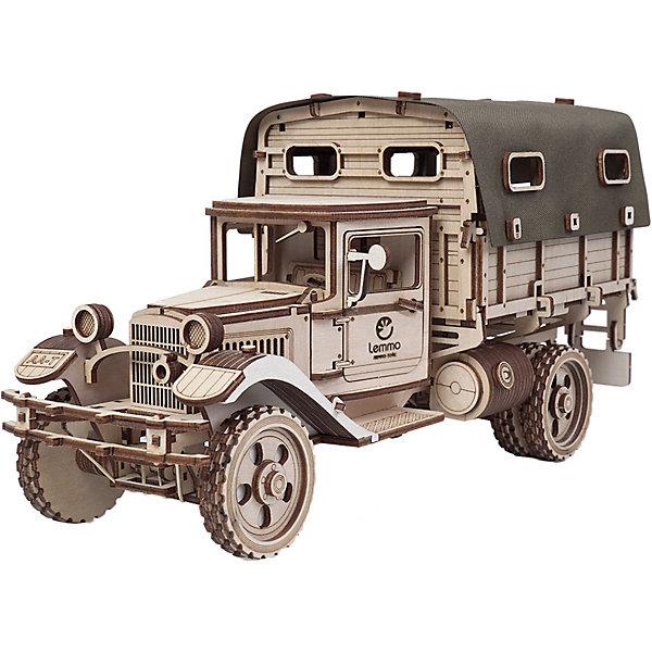 Купить Сборная модель Lemmo Грузовик ГАЗ-АА Тент , Россия, бежевый, Мужской