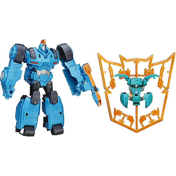 """Трансформеры Transformers """"Роботы под прикрытием Миниконы Деплойерс"""" Оверлод и Блэк Трек"""