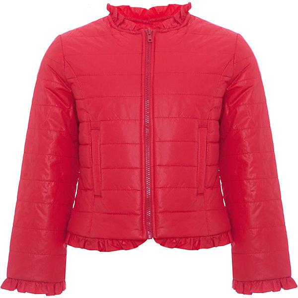 Куртка Original Marines для девочкиВерхняя одежда<br>Характеристики товара:<br><br>• цвет: красный;<br>• состав ткани: 100% полиамид;<br>• подкладка: 100% полиэстер;<br>• утеплитель: 100% полиэстер;<br>• сезон: демисезон;<br>• температурный режим: от +5 до +15;<br>• особенности модели: без капюшона;<br>• застежка: молния;<br>• страна бренда: Италия.<br><br>Известный бренд из Италии Original Marines выпускает детскую одежду, отличающуюся узнаваемым европейским стилем и отличным качеством. Такая детская куртка выполнена в молодежной стильной расцветке. Куртка для ребенка модно и женственно смотрится, она была разработана специально для девочек. Детская куртка создает комфортные условия в прохладную погоду и удобно сидит по фигуре. <br><br>Куртку Original Marines (Ориджинал Маринс) для девочки можно купить в нашем интернет-магазине.<br>Ширина мм: 356; Глубина мм: 10; Высота мм: 245; Вес г: 519; Цвет: красный; Возраст от месяцев: 72; Возраст до месяцев: 84; Пол: Женский; Возраст: Детский; Размер: 116,104,92; SKU: 8492480;