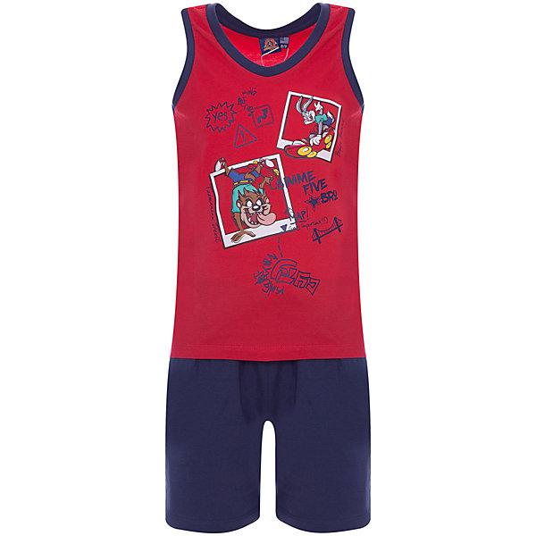 Комплект Original Marines: майка и шортыКомплекты<br>Характеристики товара:<br><br>• цвет: красный/синий<br>• пол: мальчики<br>• комплектация: майка и шорты<br>• состав ткани: 100% хлопок<br>• сезон: лето<br>• особенности модели: спортивный стиль<br>• пояс: резинка<br>• комфорт и качество<br>• печатный принт<br>• страна бренда: Италия<br><br>Детский комплект обеспечит ребенку комфорт, благодаря продуманному крою. Яркая майка с модный принтом и синие шорты сделаны из натурального качественного материала. Детский комплект комфортно сидит, не вызывает неудобств. Итальянский бренд Original Marines - это стильный продуманный дизайн и неизменно высокое качество исполнения. Парадуйте своего малыша ярким комплектом для активных летних прогулок.