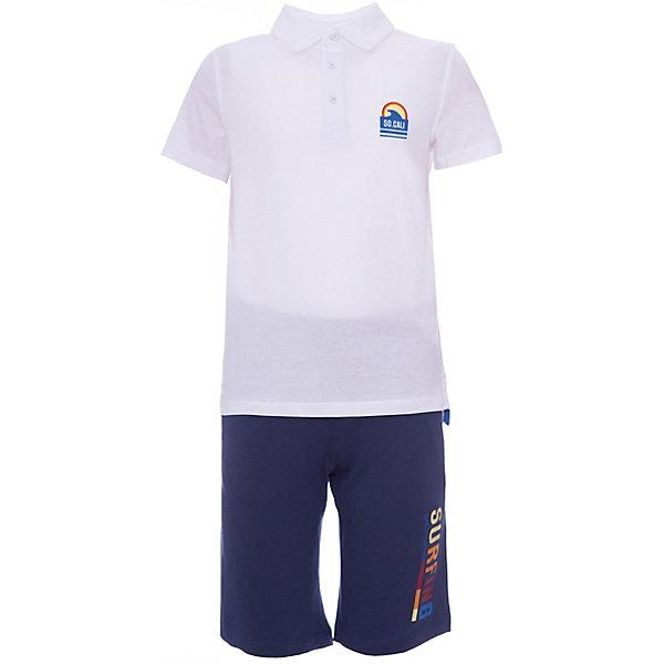 Комплект :футболка-шорты, шорты Original Marines для мальчика, Россия, белый, 152, 128, 140, Мужской  - купить со скидкой