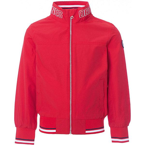 Куртка Original Marines для мальчикаВерхняя одежда<br>Характеристики товара:<br><br>• цвет: красный;<br>• состав ткани: 55% хлопок, 45% полиамид;<br>• подкладка: 100% полиэстер;<br>• утеплитель: нет;<br>• сезон: демисезон;<br>• температурный режим: от +15 до +20;<br>• особенности модели: без капюшона;<br>• застежка: молния;<br>• страна бренда: Италия.<br><br>Легкая детская куртка выполнена в яркой модной расцветке - она может оживить демисезонный гардероб ребенка. Куртка для ребенка стильно смотрится, она дополнена резинками на рукавах и по низу изделия. Детская куртка создает комфортные условия в прохладную погоду и удобно сидит по фигуре. Итальянский бренд Original Marines - это модная детская одежда европейского качества. <br><br>Куртку Original Marines (Ориджинал Маринс) для мальчика можно купить в нашем интернет-магазине.<br>Ширина мм: 356; Глубина мм: 10; Высота мм: 245; Вес г: 519; Цвет: красный; Возраст от месяцев: 48; Возраст до месяцев: 60; Пол: Мужской; Возраст: Детский; Размер: 104,92,116; SKU: 8492609;