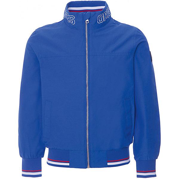 Куртка Original Marines для мальчикаВерхняя одежда<br>Характеристики товара:<br><br>• цвет: синий;<br>• состав ткани: 55% хлопок, 45% полиамид;<br>• подкладка: 100% полиэстер;<br>• утеплитель: нет;<br>• сезон: демисезон;<br>• температурный режим: от +15 до +20;<br>• особенности модели: без капюшона;<br>• застежка: молния;<br>• страна бренда: Италия.<br><br>Популярный европейский бренд Original Marines - это стильный продуманный дизайн и неизменно высокое качество исполнения. Эта детская ветровка выполнена в яркой модной расцветке - она может оживить демисезонный гардероб ребенка. Куртка для ребенка стильно смотрится, она дополнена резинками на рукавах и по низу изделия. Детская куртка создает комфортные условия в прохладную погоду и удобно сидит по фигуре.<br><br>Куртку Original Marines (Ориджинал Маринс) для мальчика можно купить в нашем интернет-магазине.<br>Ширина мм: 356; Глубина мм: 10; Высота мм: 245; Вес г: 519; Цвет: синий; Возраст от месяцев: 72; Возраст до месяцев: 84; Пол: Мужской; Возраст: Детский; Размер: 116,92,104; SKU: 8492610;