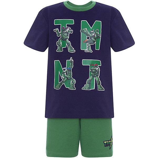 Пижама Original Marines для мальчикаПижамы и сорочки<br>Характеристики товара:<br><br>• цвет: зеленый;<br>• комплектация: футболка, шорты;<br>• состав ткани: 100% хлопок;<br>• сезон: круглый год;<br>• талия: резинка;<br>• короткие рукава;<br>• страна бренда: Италия.<br><br>Такая пижама для детей порадует любителя мультфильма про Черепашек Ниндзя. Хлопковая детская пижама от Original Marines создает комфортные условия на протяжении всей ночи и позволяет коже дышать. Симпатичная детская пижама легко надевается благодаря эластичному материалу, шорты от пижамы для ребенка не давят на живот - в них мягкая резинка. Одежда от Original Marines - стильные и качественные вещи для детей различных возрастов.<br><br>Пижаму Original Marines (Ориджинал Маринс) для мальчика можно купить в нашем интернет-магазине.<br>Ширина мм: 281; Глубина мм: 70; Высота мм: 188; Вес г: 295; Цвет: синий; Возраст от месяцев: 144; Возраст до месяцев: 156; Пол: Мужской; Возраст: Детский; Размер: 152,128,140; SKU: 8492630;