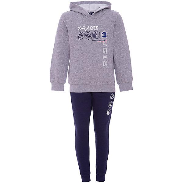 Купить Костюм:пуловер, брюки Original Marines для мальчика, Россия, серый, 140, 128, Мужской