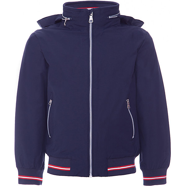 Куртка Original Marines для мальчикаВерхняя одежда<br>Характеристики товара:<br><br>• цвет: синий<br>• пол: мальчики<br>• состав верха: 58% Хлопок, 42% Полиамид <br>• подкладка: 100% полиэстер <br>• застежка: молния<br>• карманы на молнии<br>• эластичная оконтовка на рукавах и по низу<br>• капюшон убирается в воротник<br>• качество и комфорт<br>• страна бренда: Италия<br><br>Универсальная синяя куртка в спортивном стиле для мальчика поможет разнообразить гардероб ребенка и обеспечить тепло в прохладную погоду. Она отлично сочетается с другими предметами детского гардероба. Практичный цвет позволяет подобрать к вещи низ различных расцветок. Дополнена капюшоном, который можно убрать в воротник, качественной молнией и двумя карманами.<br><br>Итальянский бренд Original Marines - это стильный продуманный дизайн и неизменно высокое качество исполнения. <br><br>Куртку Original Marines (Ориджинал Маринс) для мальчика можно купить в нашем интернет-магазине.<br>Ширина мм: 356; Глубина мм: 10; Высота мм: 245; Вес г: 519; Цвет: голубой; Возраст от месяцев: 120; Возраст до месяцев: 120; Пол: Мужской; Возраст: Детский; Размер: 140,128; SKU: 8492686;