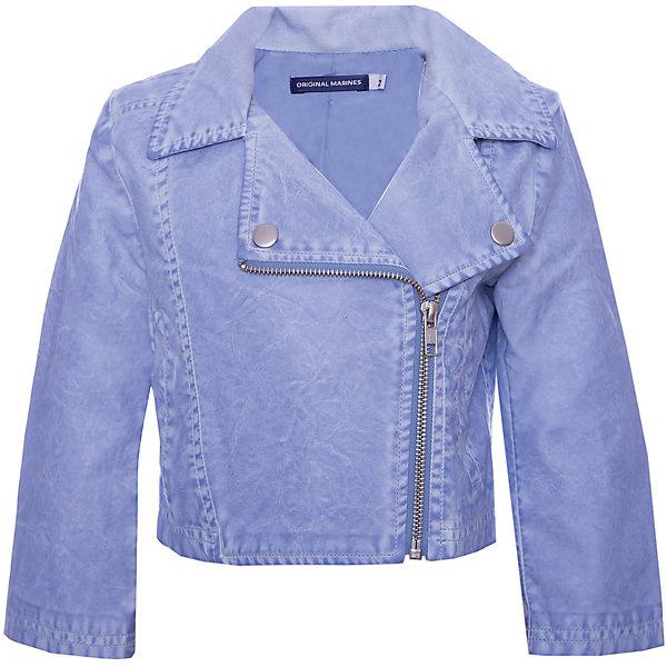 Куртка Original Marines для девочкиВерхняя одежда<br>Характеристики товара:<br><br>• цвет: голубой;<br>• ткань верха: вискоза 100%;<br>• верхний слой: полиуретан 100%;<br>• подкладка: полиэстер 100%;<br>• сезон: лето;<br>• температурный режим: от +15°С;<br>• отложный воротник;<br>• застежка: на молнии;<br>• тип куртки: жакет;<br>• страна бренда: Италия.<br><br>Модная детская куртка Original Marines , выполненная в нежном голубом цвете, может стать отличным вариантом удобной одежды для прохладной погоды. Куртка оригинального кроя будет хорошо сидеть по фигуре, и сочетаться с большим количеством одежды. Современный дизайн и комфорт непримерно понравятся вашему ребенку. <br><br>Куртку Original Marines (Ориджинал Маринс) для девочки можно купить в нашем интернет-магазине.<br>Ширина мм: 356; Глубина мм: 10; Высота мм: 245; Вес г: 519; Цвет: голубой; Возраст от месяцев: 60; Возраст до месяцев: 60; Пол: Женский; Возраст: Детский; Размер: 110,92,98,122,104,116; SKU: 8492855;