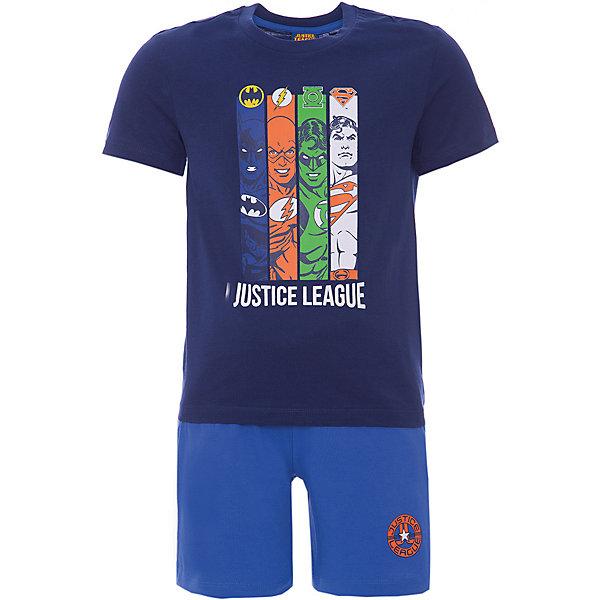 Комплект :футболка,шорты Original Marines для мальчикаКомплекты<br>Характеристики товара:<br><br>• цвет: синий/голубой<br>• пол: мальчики<br>• комплектация: футболка и шорты<br>• состав ткани: 100% хлопок<br>• сезон: лето<br>• особенности модели: спортивный стиль<br>• пояс: резинка<br>• комфорт и качество<br>• печатный принт<br>• страна бренда: Италия<br><br>Детский комплект обеспечит ребенку комфорт, благодаря продуманному крою. Синяя футболка с модный принтом и удобные шорты сделаны из натурального качественного материала. Детский комплект комфортно сидит, не вызывает неудобств. Итальянский бренд Original Marines - это стильный продуманный дизайн и неизменно высокое качество исполнения. Парадуйте своего малыша ярким комплектом для активных летних прогулок.<br><br>Комплект: футболка и шорты Original Marines (Ориджинал Маринс) для мальчика можно купить в нашем интернет-магазине.