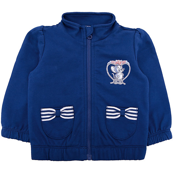 Куртка Original Marines для девочкиВерхняя одежда<br>Характеристики товара:<br><br>• цвет: синий<br>• пол: девочки<br>• состав ткани: 100% хлопок<br>• застежка: молния<br>• карманы<br>• с длинными рукавами<br>• веселый детский принт<br>• страна бренда: Италия<br><br>Оригинальная и очень уютная толстовка  для девочки поможет разнообразить гардероб ребенка и обеспечить тепло в прохладную погоду. Она отлично сочетается с другими предметами детского гардероба. Модель выполнена в синем цвете с веселым детским рисунком спереди и бантикамина карманах, ваша малышка не останется незамеченной и будет радовать глаз.  Дополнена качественной молнией и воротником-стойкой.<br><br>Итальянский бренд Original Marines - это стильный продуманный дизайн и неизменно высокое качество исполнения. <br><br>Толстовку Original Marines (Ориджинал Маринс) для девочки можно купить в нашем интернет-магазине.<br>Ширина мм: 356; Глубина мм: 10; Высота мм: 245; Вес г: 519; Цвет: синий; Возраст от месяцев: 0; Возраст до месяцев: 3; Пол: Женский; Возраст: Детский; Размер: 56/62,68/74,62/68,80,86; SKU: 8492927;