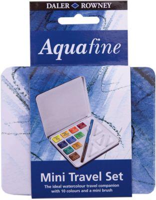 Дорожный набор акварельных красок Daler Rowney  Aquafine , 12 предметов, артикул:8492951 - Рисование и лепка