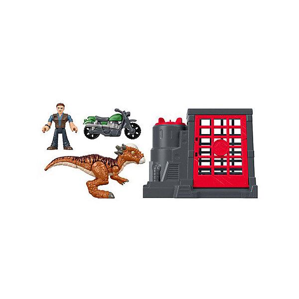 Mattel Игровой набор Jurassic World Динозавры и герои Стигимолох Оуэн Грейди