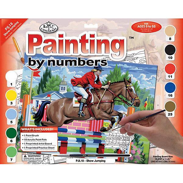 Купить PJL 18 Раскраска красками Скачки , Royal&Langnickel, Швейцария, Унисекс