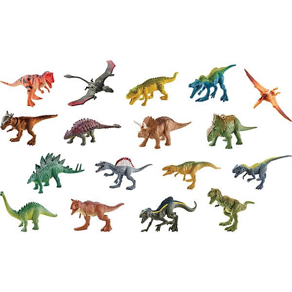 Mattel Фигурка динозавра Jurassic World Мини-динозавры