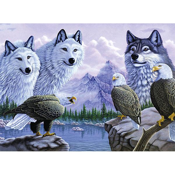 Купить Картина по номерам Royal&Langnickel Волки , 28, 5х35 см, Китай, Унисекс
