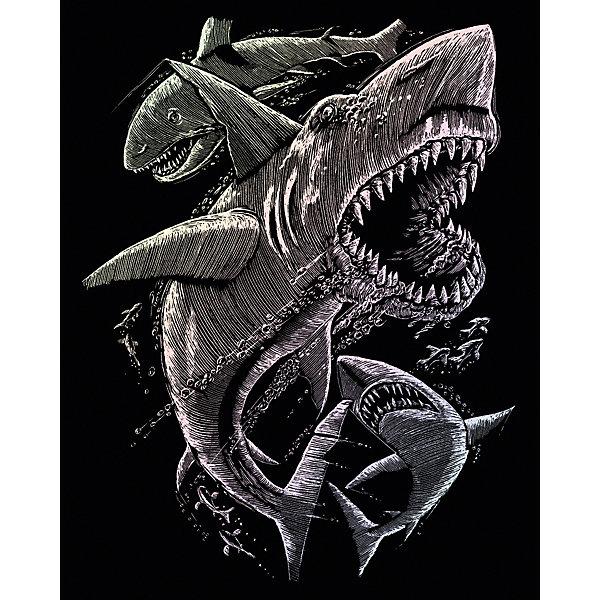 Купить HOLO 15 Гравюра голографическая Акулы , Royal&Langnickel, Швейцария, Унисекс