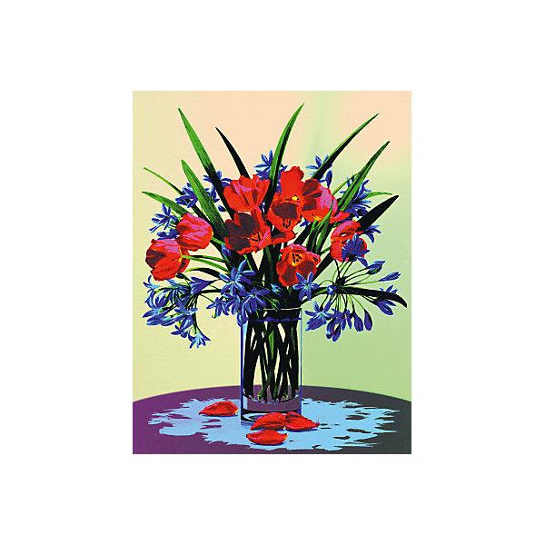 "Royal&Langnickel Картина по номерам на холсте Royal&Langnickel ""Букет"", 22х30 см"